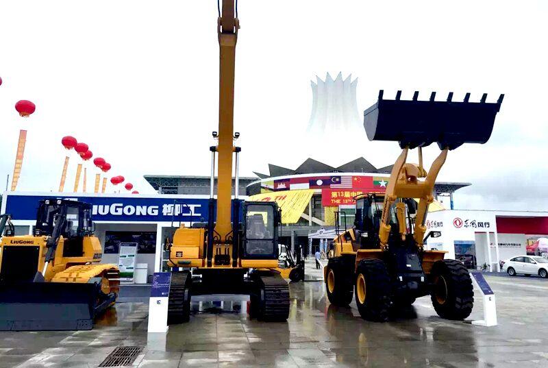 柳工产品参展第十三届中国-东盟博览会